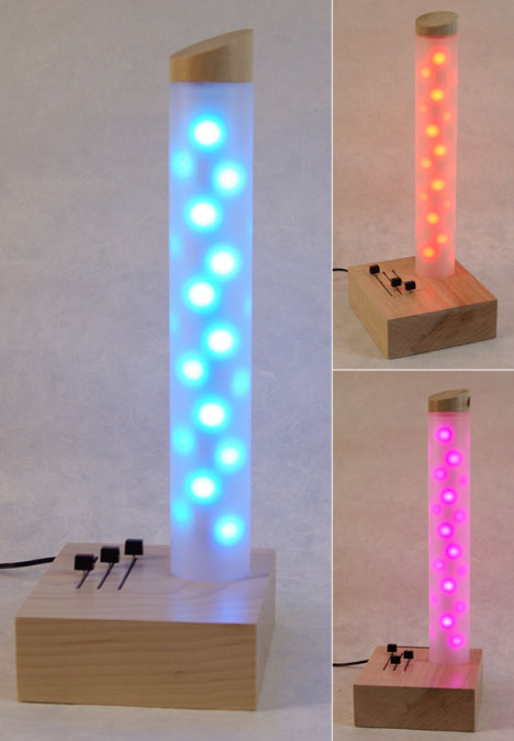 Led Tube Lamp Could Displace Your Lava Lamp Ubergizmo