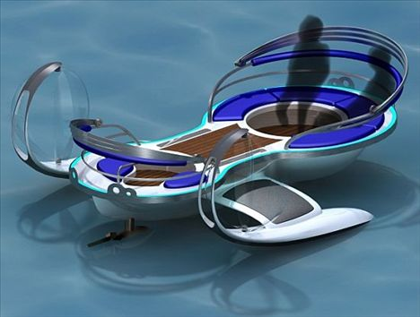 Concept véhicule Odyssey Water 2008