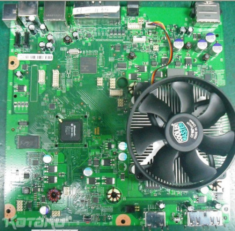 Leaked Picture Of Xbox 360 Slim Motherboard?
