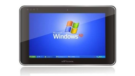 Le tablet Multi-touch SayCool tourne sous Windows XP