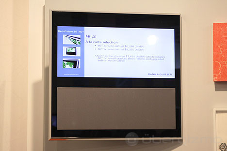 bang & olufsen beovision 10, hands-on