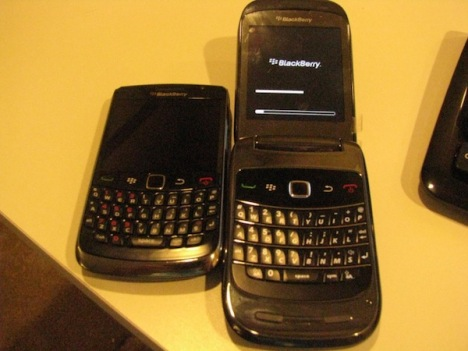 T-Mobile To Get A Red BlackBerry Curve 8520?