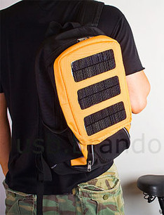 Multi-Purpose Solar Charger Backpack