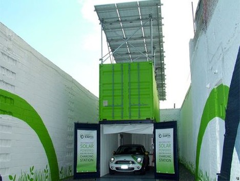 Containerized Electric Vehicle Charging Station Ubergizmo