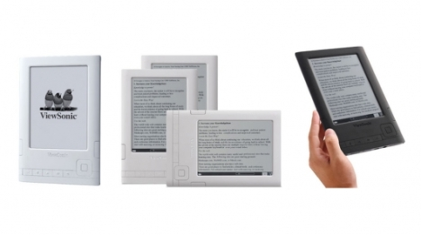 eBook readers Viewsonic VE620 et VE625