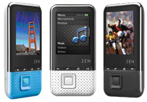 Creative Introduces ZEN X-Fi Style Media Players