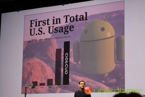 Android 2.2 (FroYo) à Google I/O 2010