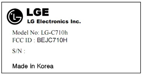LG Aloha Visits The FCC In The Form Of The LG-C710h?