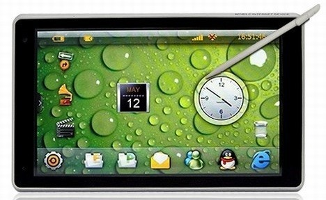 X10 MID Tablet PC Can Handle 1080p HD Video Output
