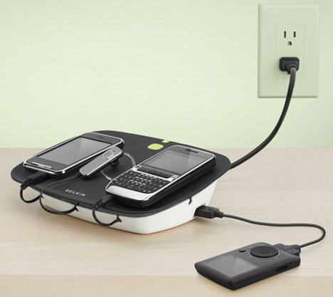 Belkin Conserve Valet Helps You Charge Up To Four Devices At One Go