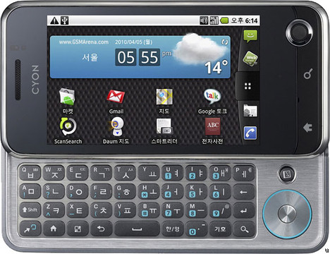 Ponsel Android LG Optimus Q