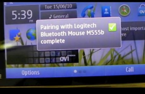 Nokia N8 Hacked To Support Bluetooth Keyboard And Mouse