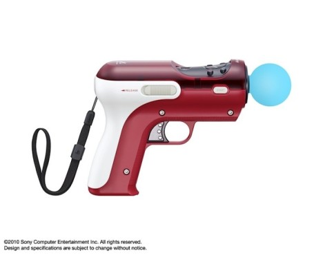 Pistolet PlayStation Move