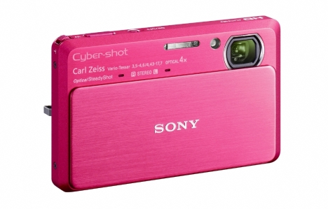 Sony Introduces 3D-capable Cyber-shot Cameras