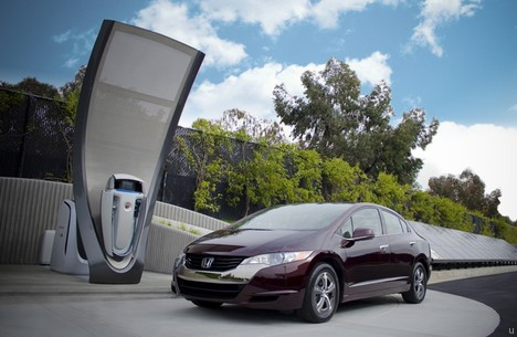 Honda home hydrogen station targets fuel cell vehicles