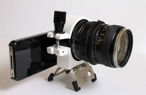 iPhone 4 Paired With A DSLR Lens