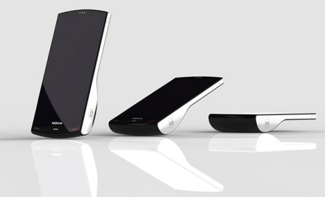 Nokia Kinetic Concept Phone Stands Up To Notify You Of Calls