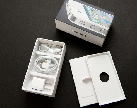 iPhone 4 Blanc Unboxed