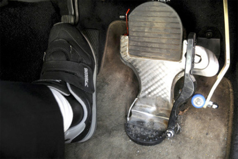 Japanese Inventor Combines The Accelerator And Brake Pedal Into One