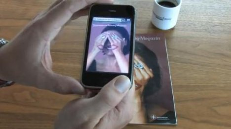 Augmented Reality Comes To Print Magazines