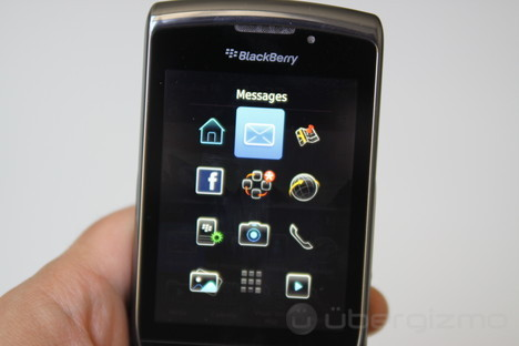 Test BlackBerry Torch
