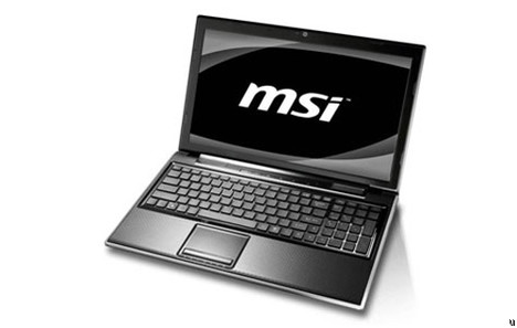 MSI takes AMD route with FX610 notebook