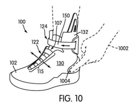Nike Files For Auto Lacing Sneaker Patent