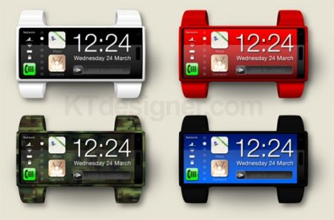 Concept: PCOD Ultrathin And Lightweight Wearable Smartphone