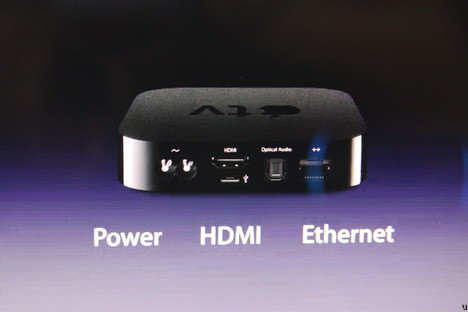 Apple Apple TV 2 introduced