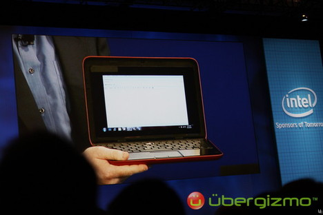 Dell Inspiron Duo tablet unveiled at IDF 2010