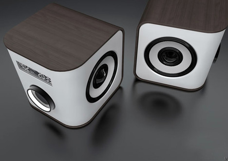 Edge wireless speakers look cut from the future