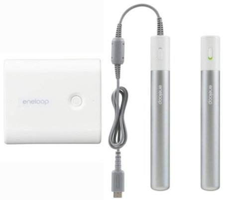 Les Sanyo Eneloop Mobile Booster et Stick Booster chargent vos appareils