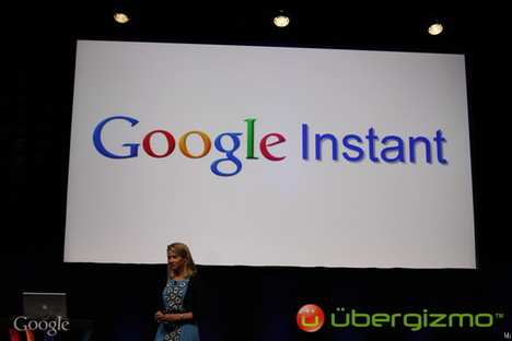 Google Instant introduced at Press Event