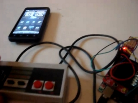 DIY: NES Bluetooth Android Controller