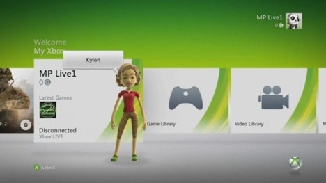 New Xbox 360 Dashboard For Kinect Leaked On Video