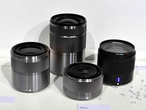 Sony To Introduce 7 New Lenses For Its NEX Mirrorless Cameras
