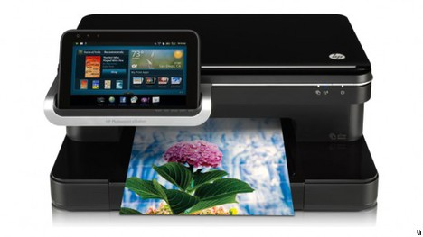 HP Photosmart eStation All-in-One printer gets detachable Android tablet