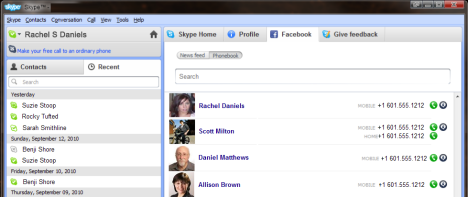 Facebook And Skype To Improve Chat Integration