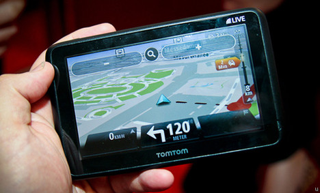 Annonce du TomTom GO Live 1005
