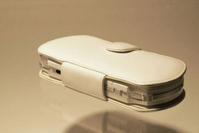 PDair White Leather Case for the Sony PSP