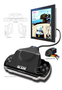 Blaze to release PSP-TV adapter by December 2005