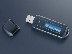 USB Flash Drive with LCD display
