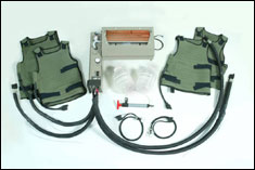 Cooling Vests from Army for use in Humvees