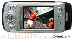 Cyberbank CP-B300 Smartphone with satellite DMB Television