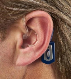 Hearing impaired receive aid with Bluetooth technology