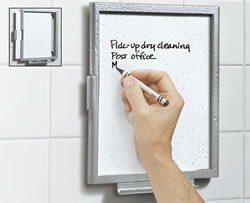 Erasable Shower Tablet for inspired moments