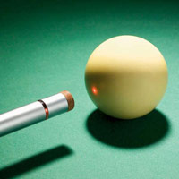 Laser-Guided Pool Cue