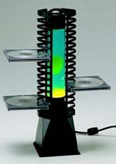 Motion Lava Lamp CD Rack