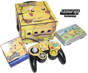 Pokemon Casewraps for Nintendo Consoles