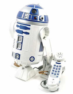 R2-D2 phone lights up your day